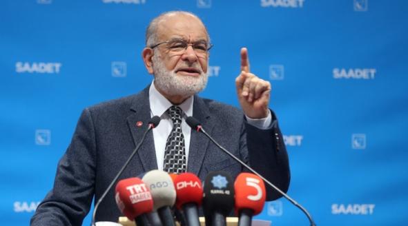 "Saadet leader Karamollaoğlu: ""The cost of mistakes is heavy"""