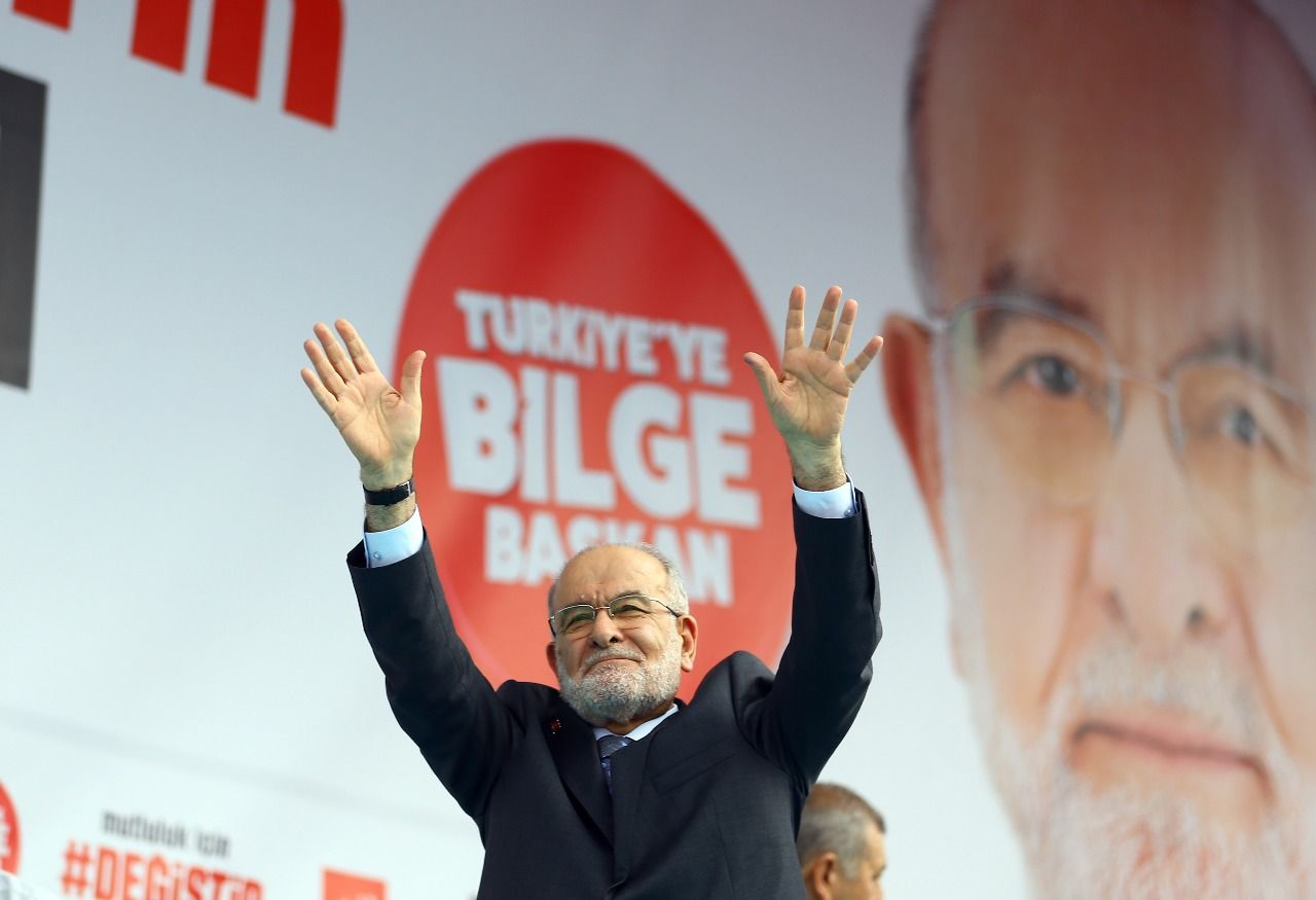 Saadet leader Karamollaoglu to continue rallies in İstanbul