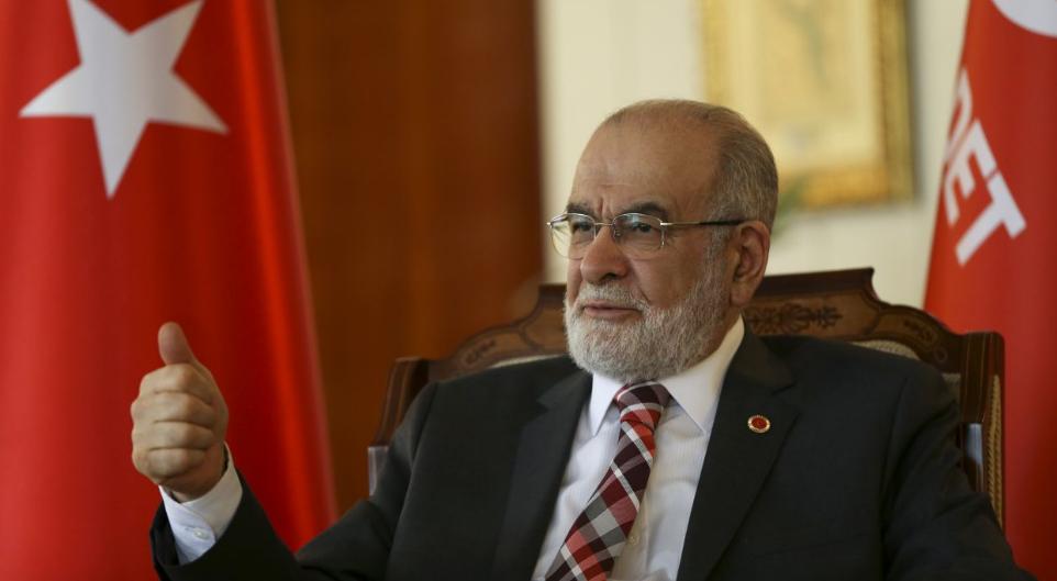 Saadet leader Karamollaoğlu to visit Davutoğlu, Babacan