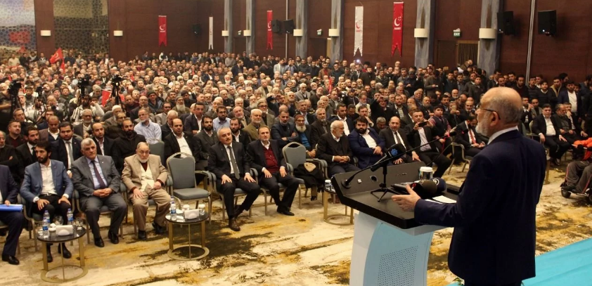 """Saadet leader Karamollaoglu: """"Troubles are clear, but no one sees!"""""""
