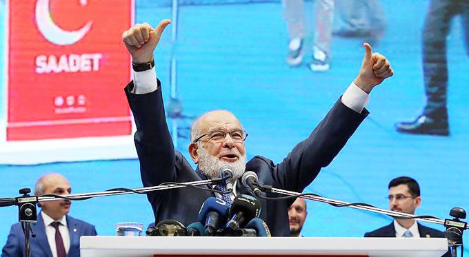 Saadet leader Karamollaoğlu's
