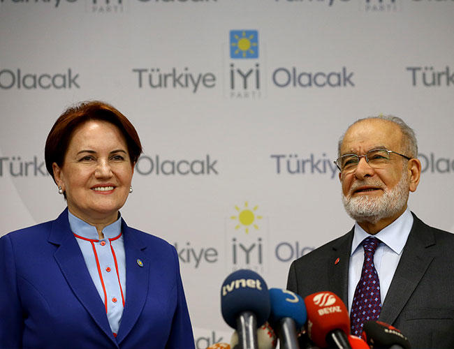 Saadet Party and İyi Party leaders apply for candidacy
