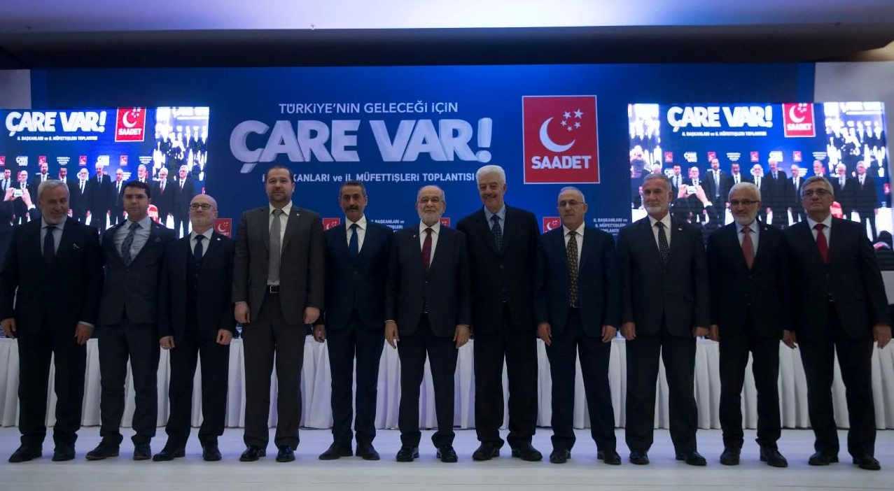 Saadet Party announced 70 mayoral candidates