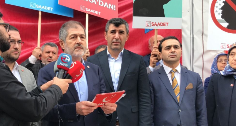 Saadet Party gives answer to Trump's unlimited letter