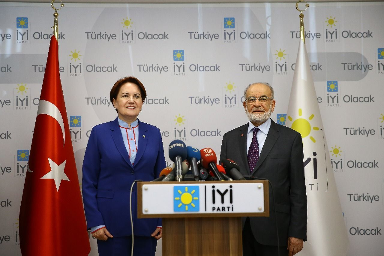 Saadet Party leader Karamollaoğlu and İyi Party head Akşener to meet today