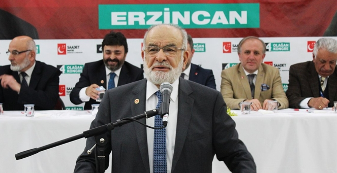 Saadet Party leader Karamollaoglu: 'Be with the industrialists!'