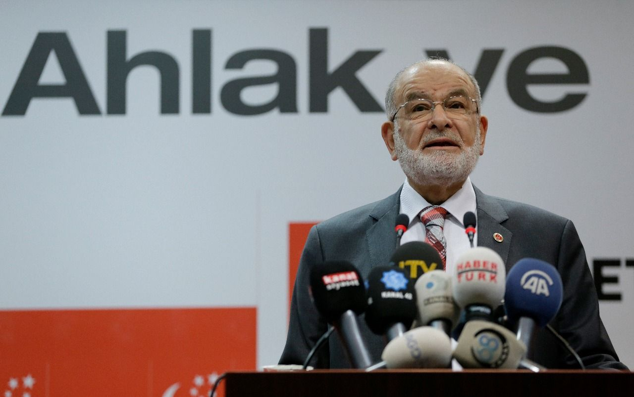 Saadet Party leader Karamollaoglu makes statement on death penalty