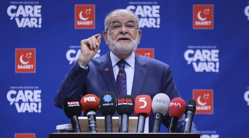 "Saadet Party leader Karamollaoğlu: ""This is not going to work"""