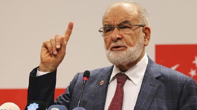 Saadet Party leader Temel Karamollaoğlu: