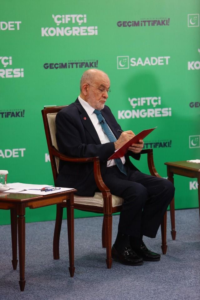 """Saadet Party listens the problem of farmers: """"The cost is high, we cannot produce"""""""
