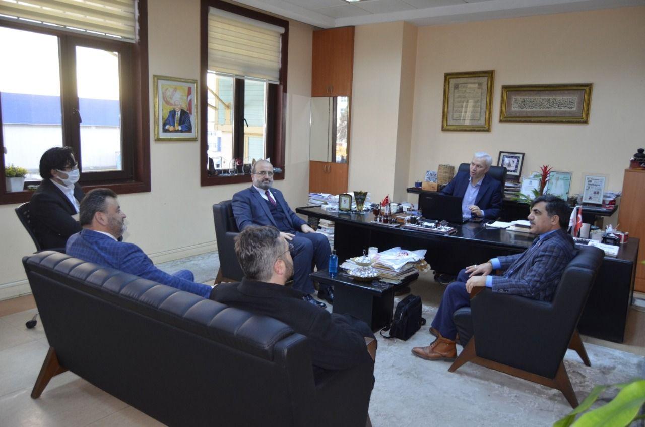 Saadet Party visits Milli Gazete over establishment anniversary