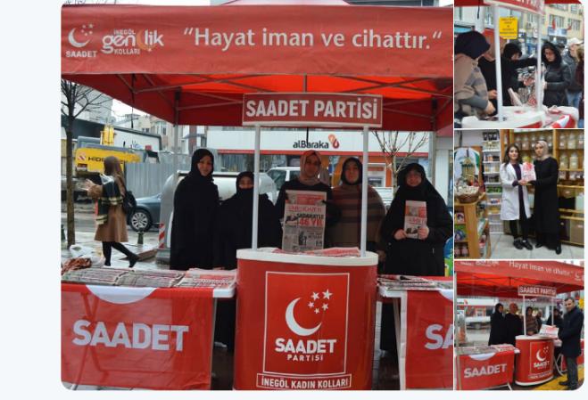 Saadet Party Women's Branch held special event