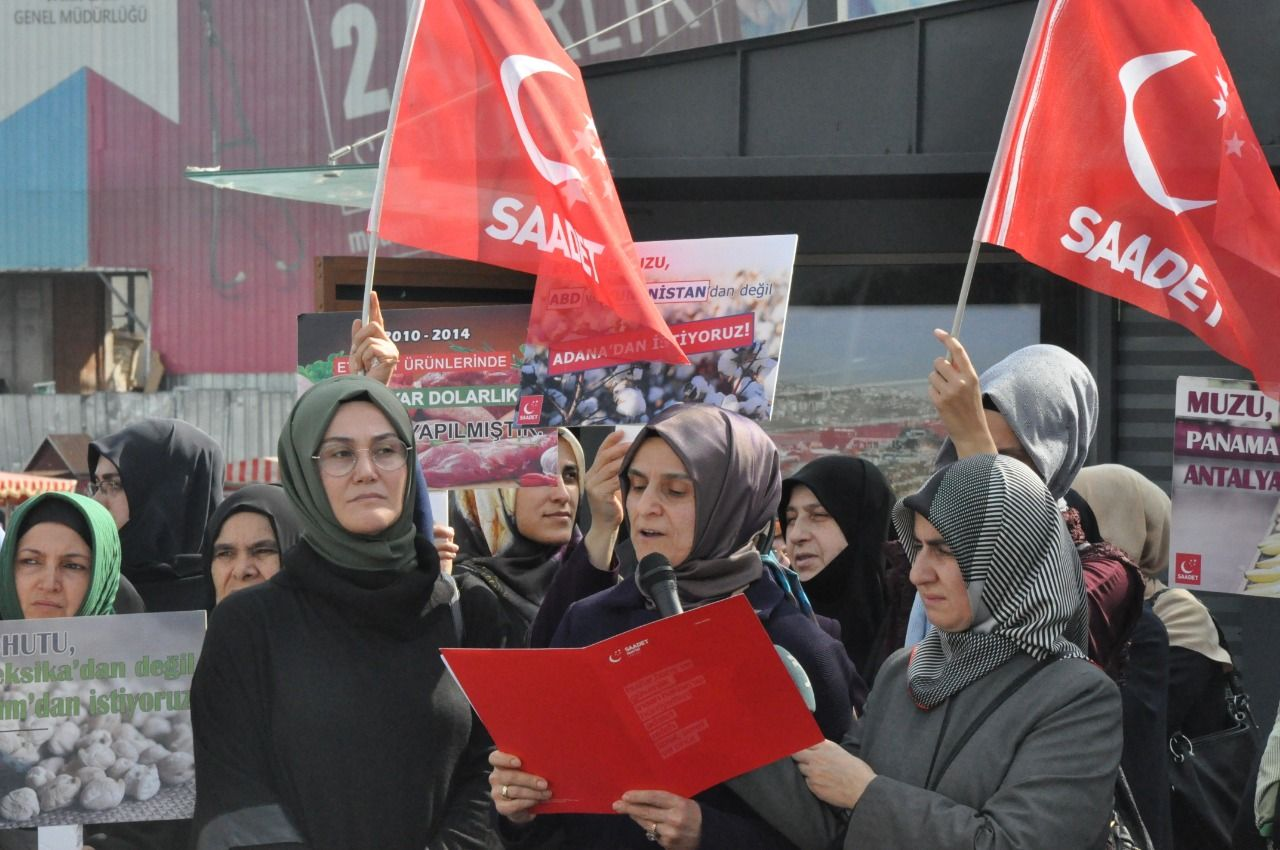 Saadet Party Women's Branches supports domestic food