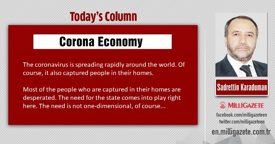 "Sadrettin Karaduman: ""Corona Economy"""