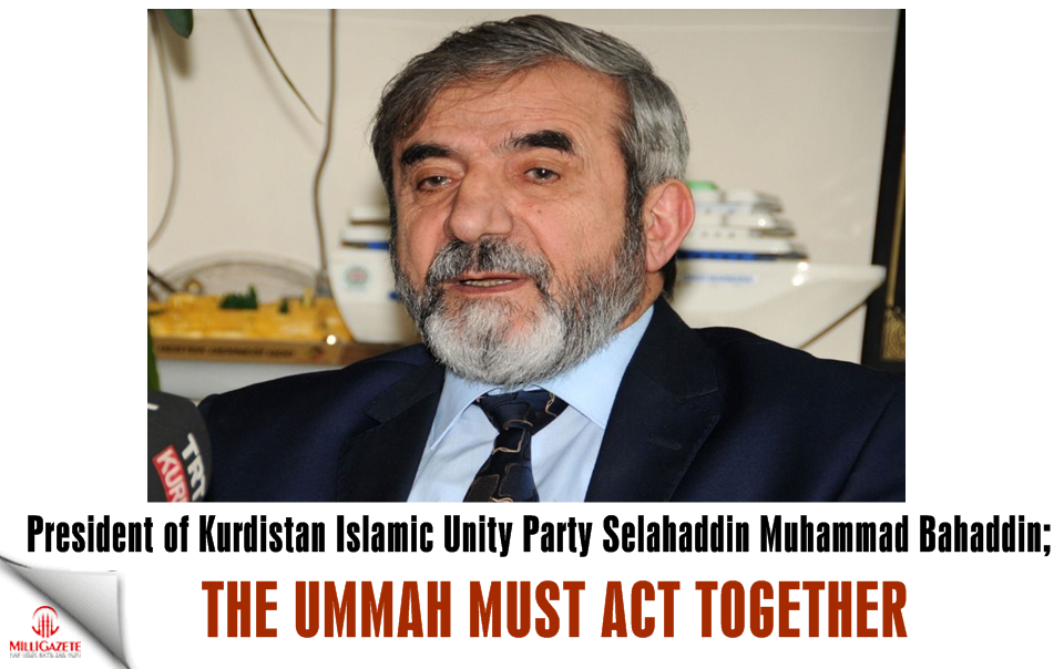 "Saladin Muhammad Bahaddin: ""The Ummah must act together"""