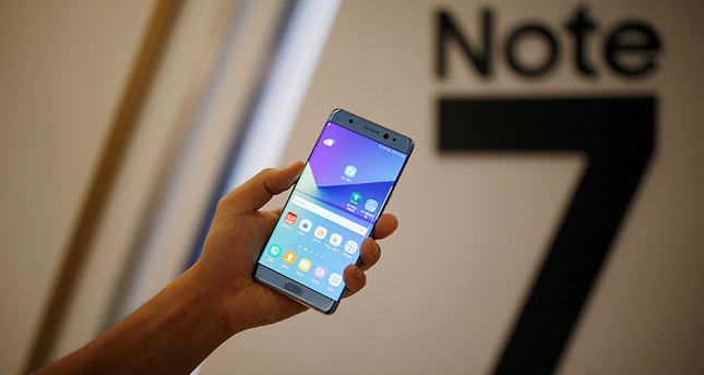 Samsung Note 7 phone catches fire again