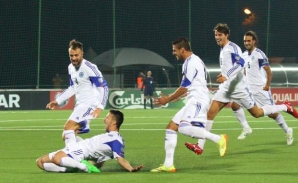 San Marino scores an away goal after 15 years