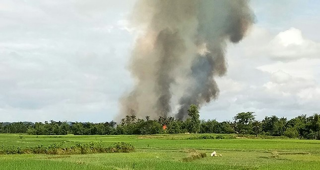 Satellite data show 700 buildings destroyed in single Rohingya village
