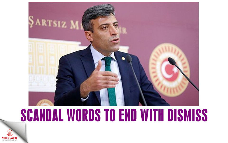 Scandal words to end with dismiss