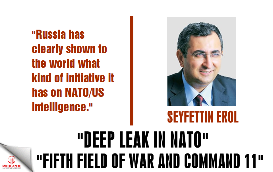 "Seyfettin Erol: ""Deep leak in NATO, fifth field of war"""