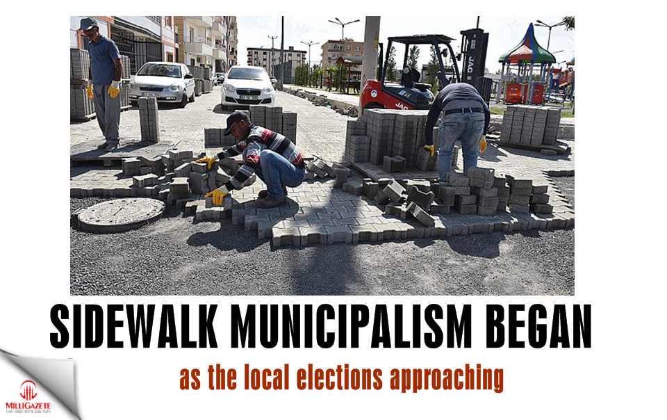 Sidewalk municipalism began as the local elections approaching
