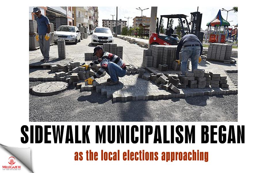 Sidewalk municipalism began as the local elections approaching