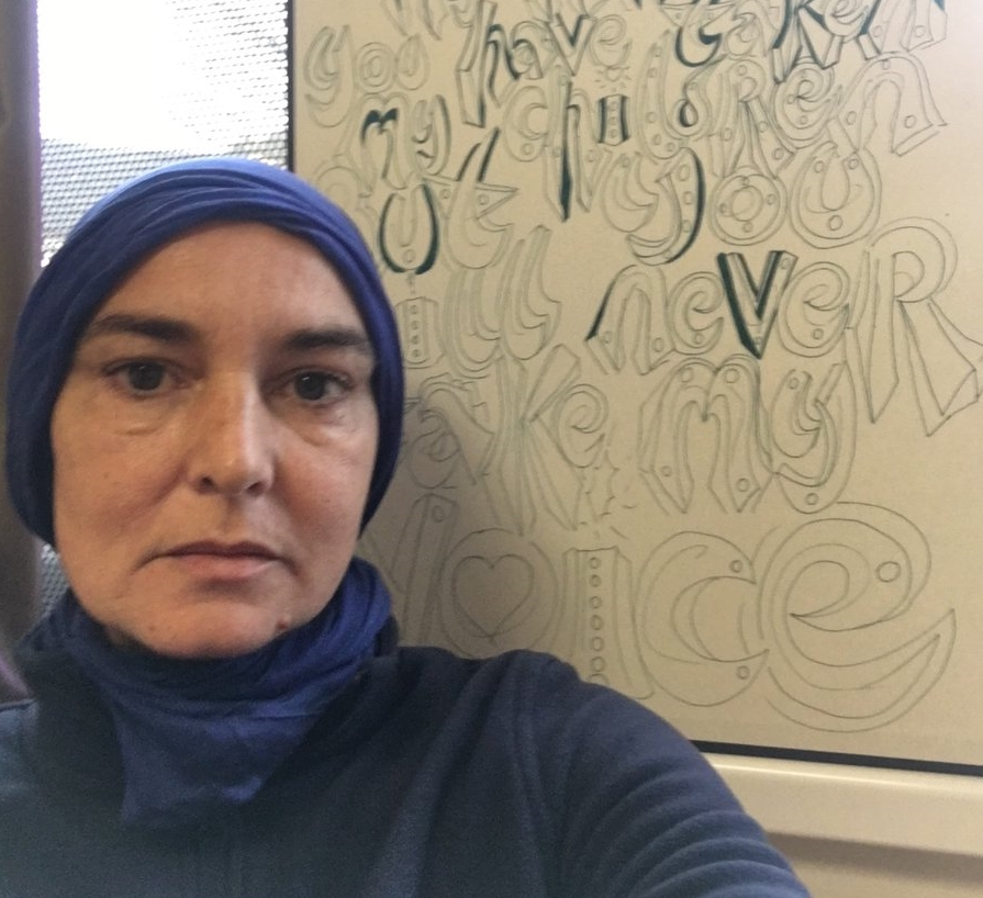 Sinead OConnor converts to Islam, now called Shuhada Davitt