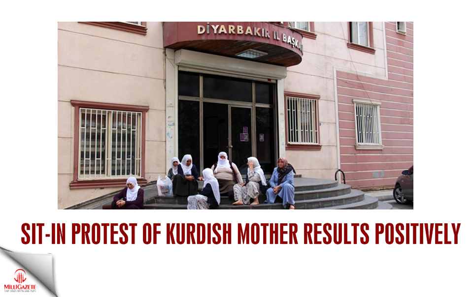 Sit-in protest of Kurdish mother results positively