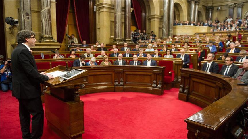 Spanish PM dissolves Catalan Parliament