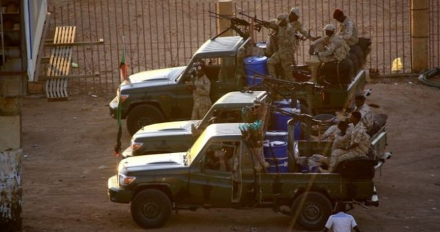 Sudan government forces quell armed protest by security agents