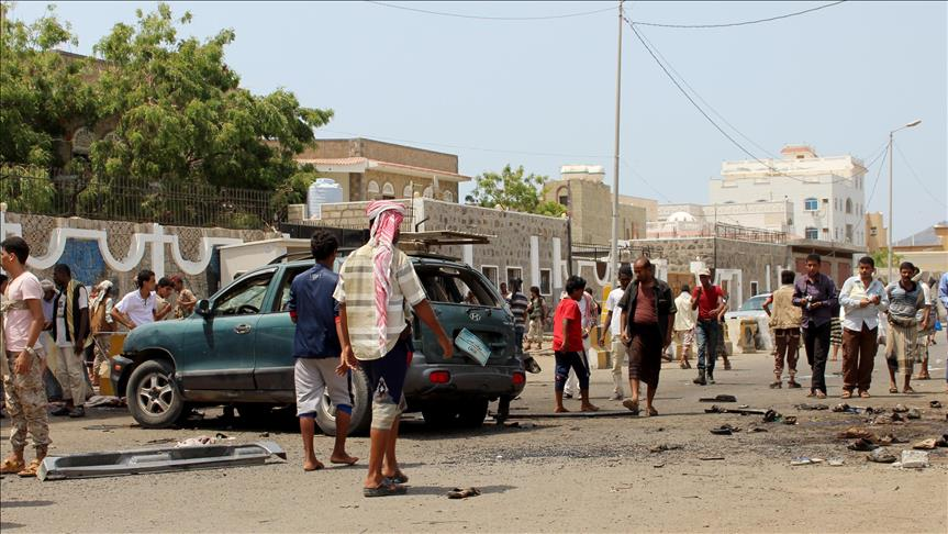 Suicide bombing kills 48 soldiers in Aden