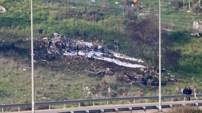 Syria downs Israeli fighter jet near Jezreel valley