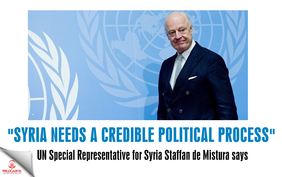 """Syria needs a credible political process"""
