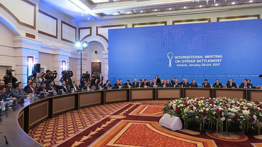 Syria peace talks on second day in Astana