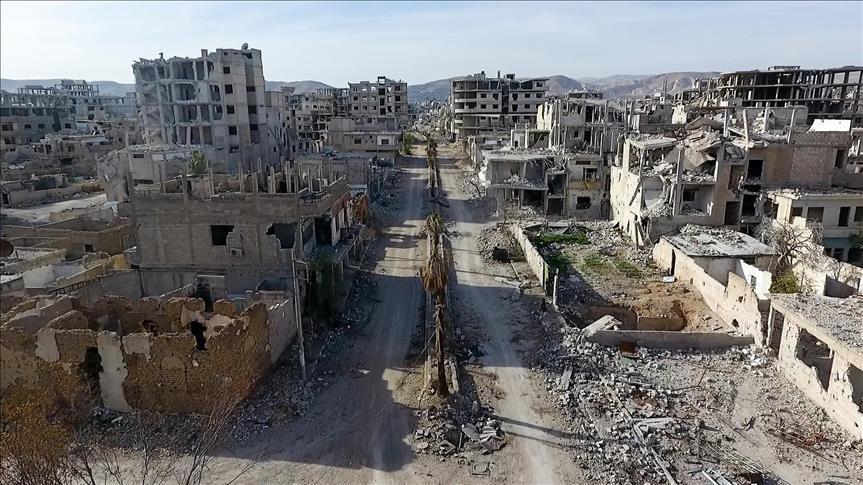 Syria regime, allies cut besieged Eastern Ghouta in two