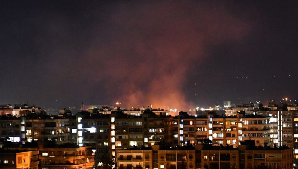 Syria says Israel carried out attack on capital