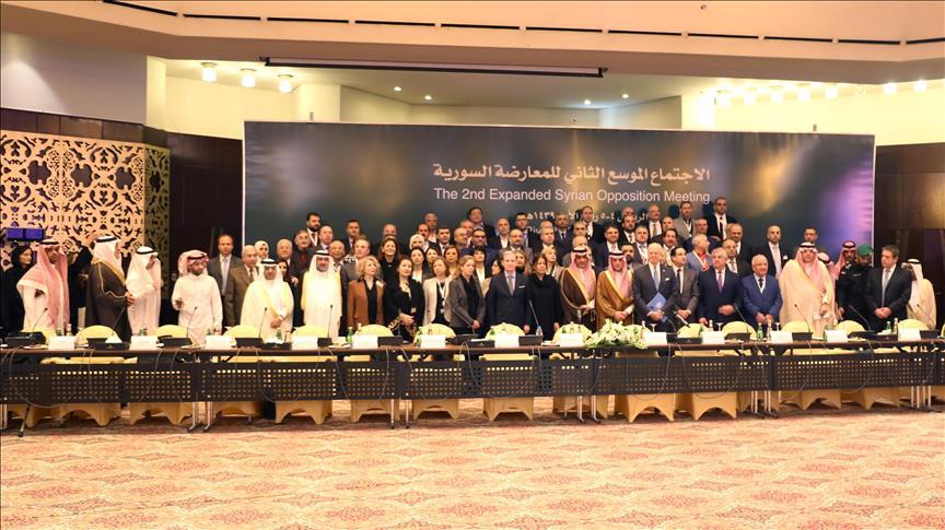 Syrian opposition agree on united delegation to Geneva