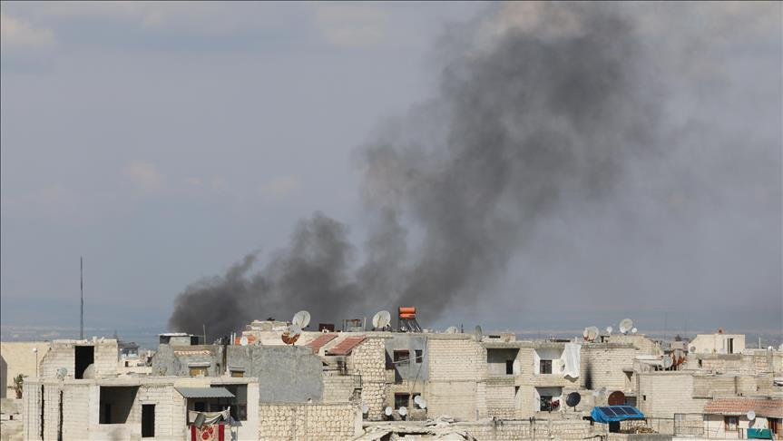 Syrian regime airstrikes kill 10 civilians
