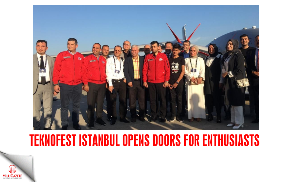 Teknofest Istanbul opens doors for enthusiasts