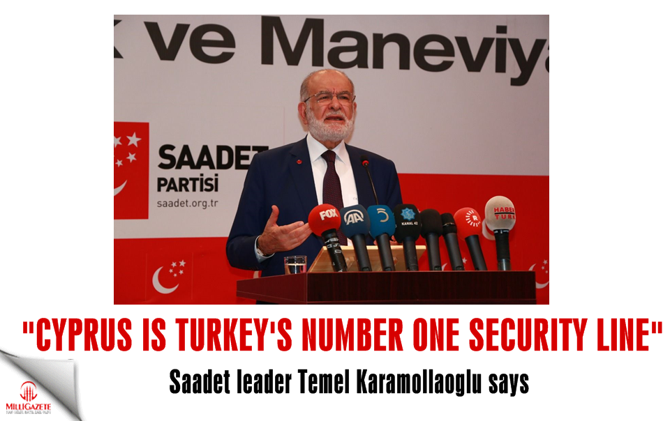 "Temel Karamollaoglu: ""Cyprus is Turkeys number one security line"""
