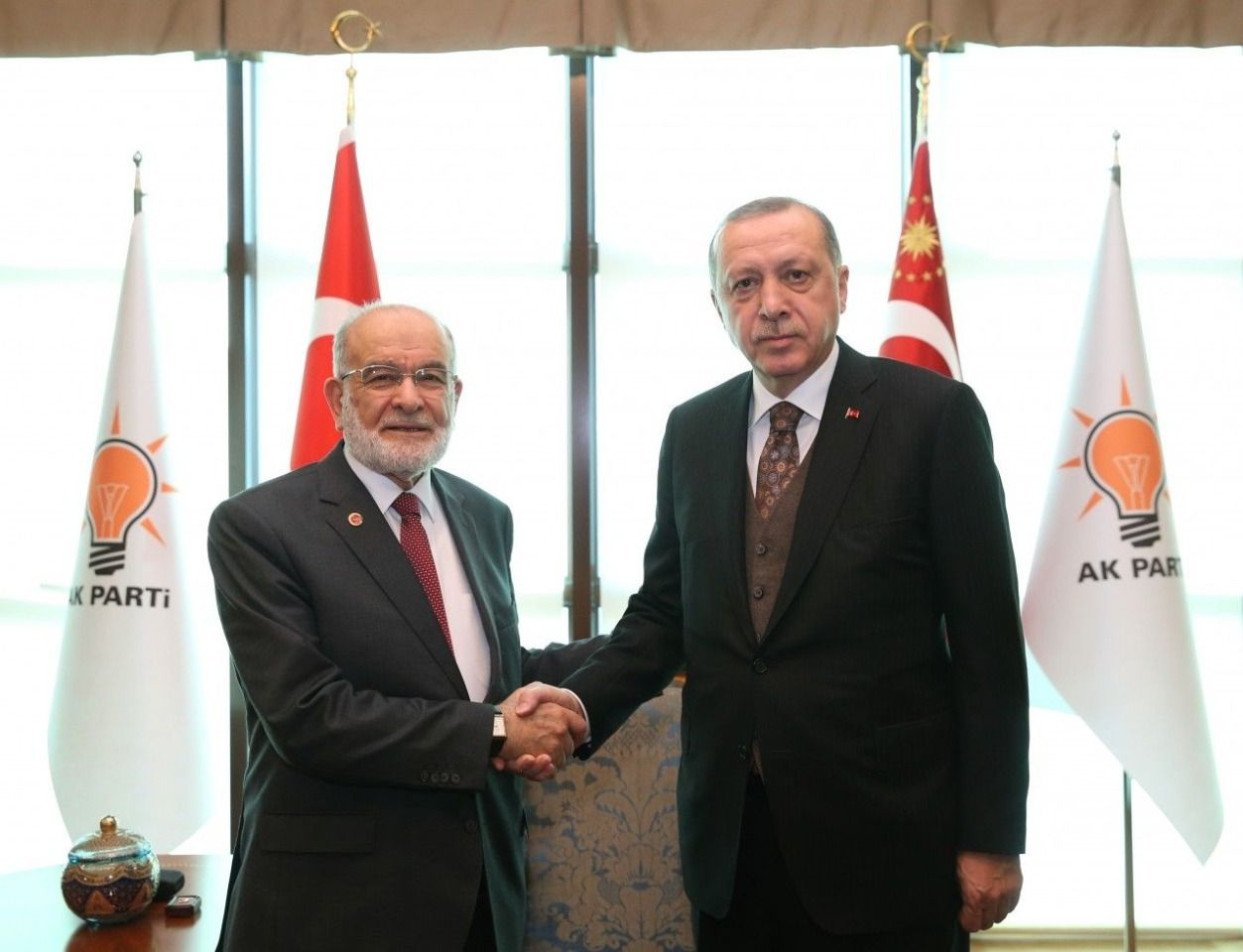 Temel Karamollaoğlu invited to Erdogan's oath ceremony