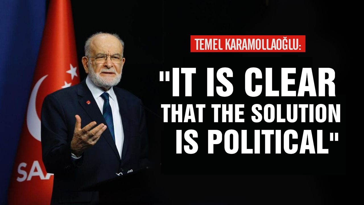"""Temel Karamollaoglu: """"It is clear that the solution is political"""""""