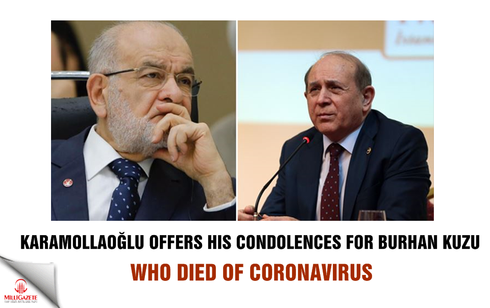 Temel Karamollaoğlu offers his condolences for Burhan Kuzu