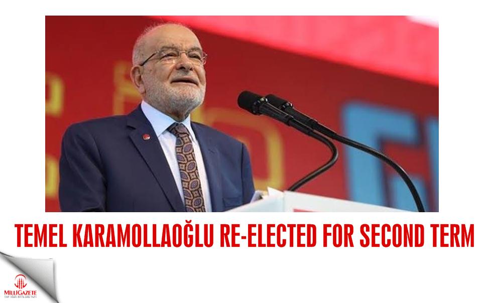Temel Karamollaoğlu re-elected for second term
