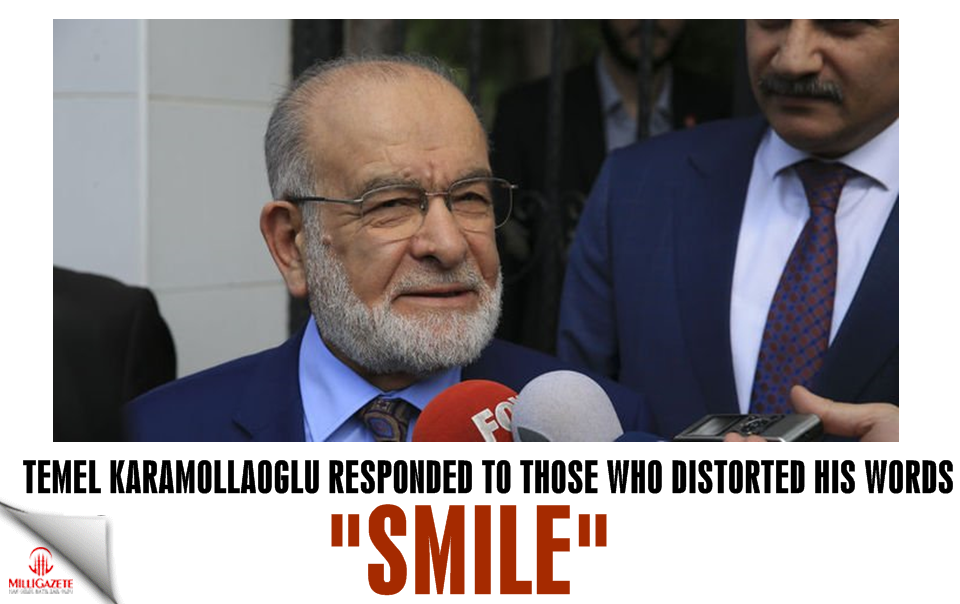 Temel Karamollaoğlu responded to those who distorted his words: