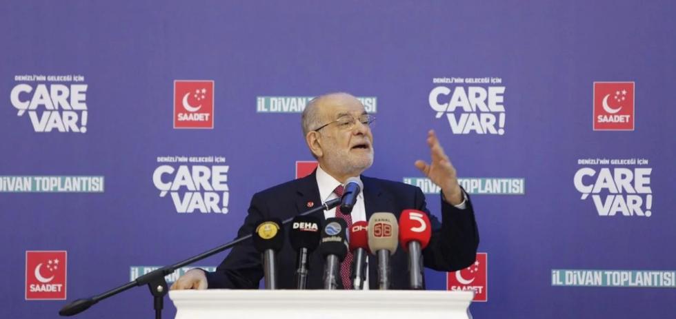 Temel Karamollaoğlu: There is neither justice nor development
