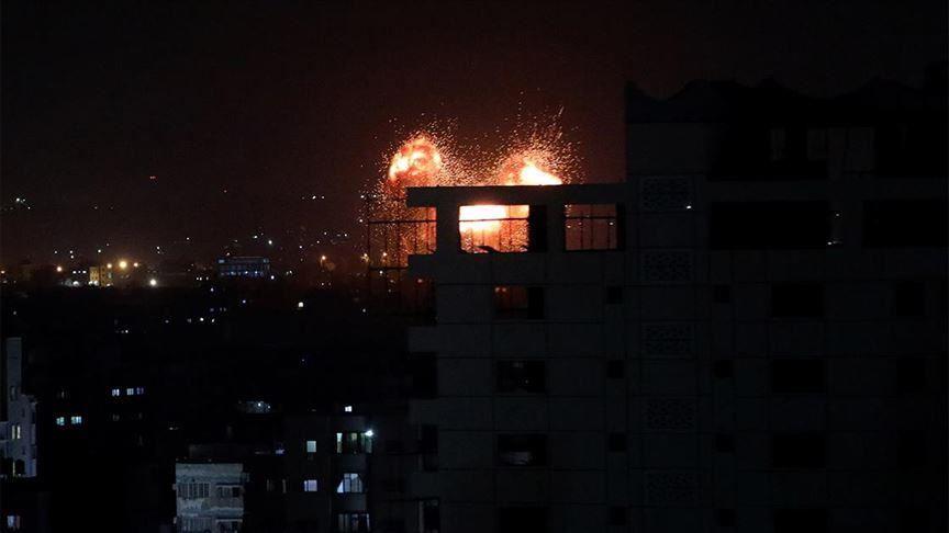 Terror regime Israel launches more attacks on Gaza