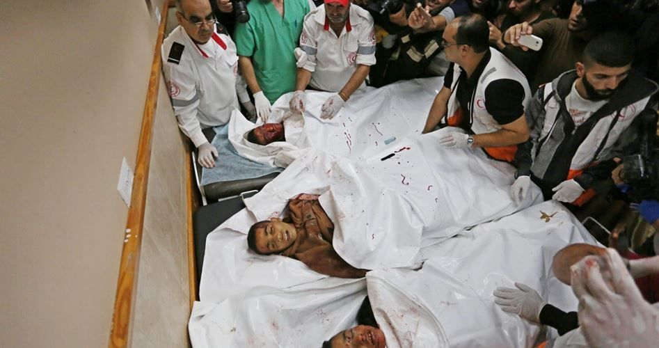 Terrorist Israel martyrs three Palestinian children
