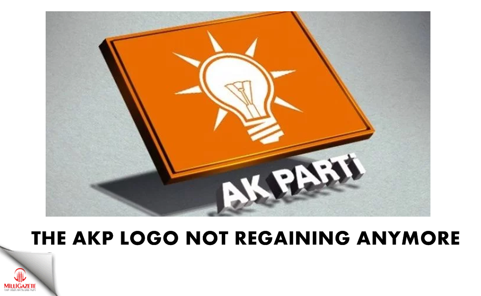 The AKP logo not regaining anymore