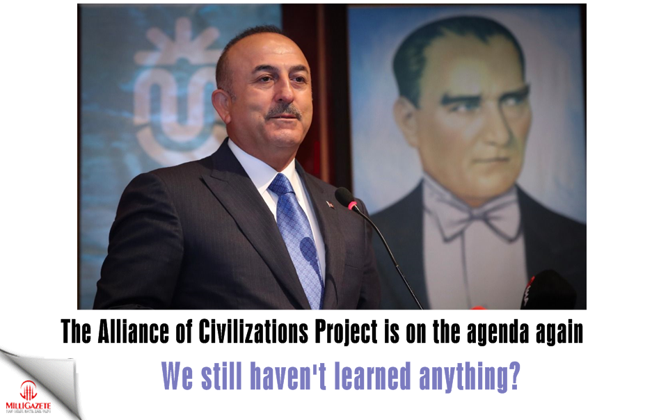 The Alliance of Civilizations Project is on the agenda again